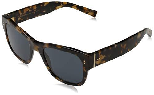 Dolce & Gabbana 0DG4338 Gafas de Sol, Blue Havana, 52 para Hombre