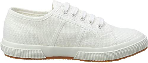 Superga 2750 Jcot Classic, Unisex-Kinder Low-Top, Weiß (901), 27 EU (9.5 UK)