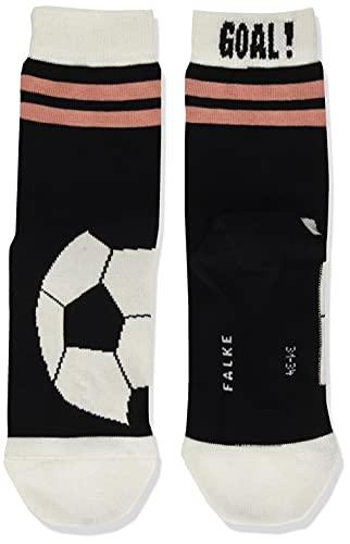 FALKE Unisex Kinder Active Soccer K SO Socken, Schwarz (Black 3001), 31-34 (7-9 Jahre)