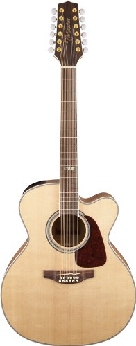 Takamine GJ72CE-12NAT Jumbo Cutaway 12-String Acoustic-Electric Guitar