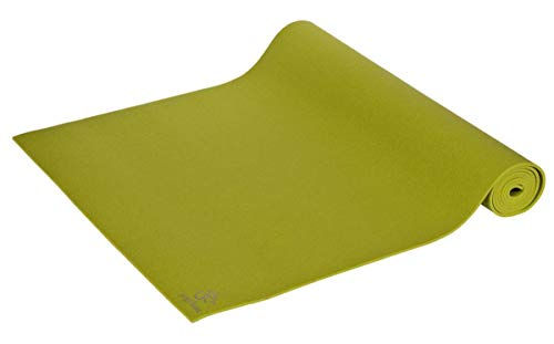 Yogamatte Premium 183 x 60 x 0, 3 cm Made in Germany, grün