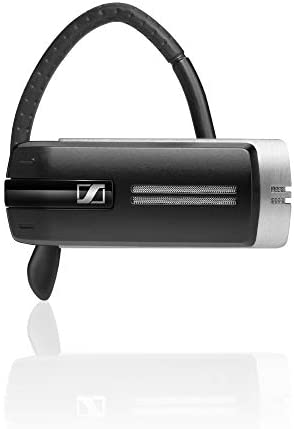 Sennheiser Presence UC (504576) - Dual Connectivity, Single-Sided Bluetooth Headset for Mobile Device & Softphone/PC Connection, with Carrying Case and USB Dongle, Major UC Platform Compatible (Black)