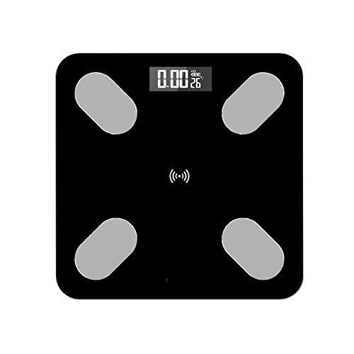 Ai-lir diseño de moda Bluetooth Cuerpo Escala de escala de grasa Impertinente Electrónico □ Escalas Digital Baño Escala de peso Balance Analizador de composición de cuerpo Digital inteligente inalámbr