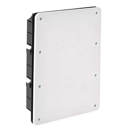 IDE CT326 IP33 Caja de Derivación de Empotrar con Tapa con Tornillos...