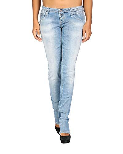 MELTIN'POT - Damen Jeans MARIETTE - Skinny Fit - blau, W32 / L34