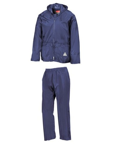 Regenanzug ( Jacke und Hose), absolut wasserdicht ,royal blue, XL XL,Royal Blue