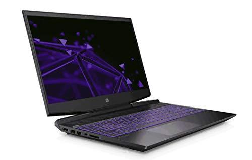 HP 15-dk0269tx Pavilion Gaming Laptop 15.6 inch (9th Gen Intel Core i5-9300H/8GB/1TB HDD/4GB GTX 1650 Graphics/Windows 10/FHD) - Shadow Black