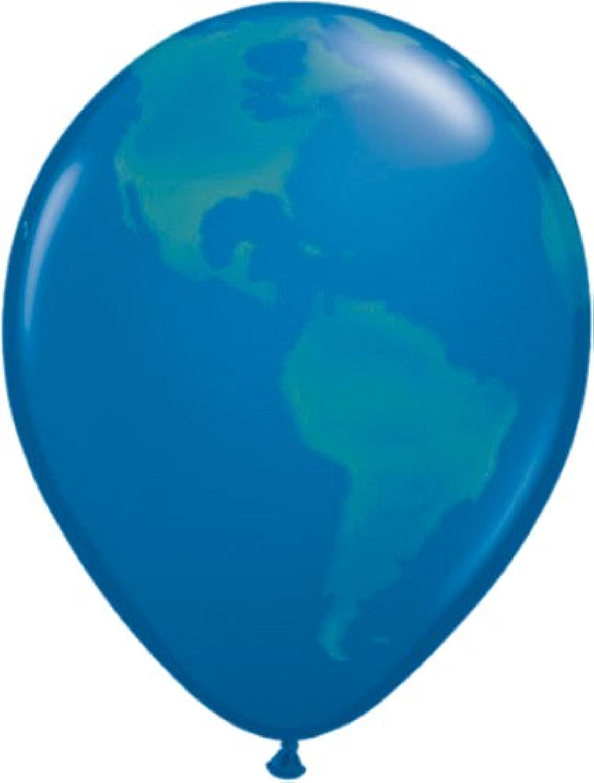 punto de venta de la marca Mayflower 6140 Globe - - - Globo de látex (50 unidades), Color azul oscuro  preferente