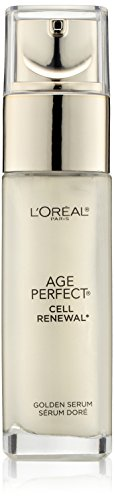 31K1DH+HoCL - Skincare Age Perfect Cell Renewal Golden Face Serum, Anti-Aging Serum to Refine, Exfoliate and Replump Mature Dull Skin, 1 fl oz