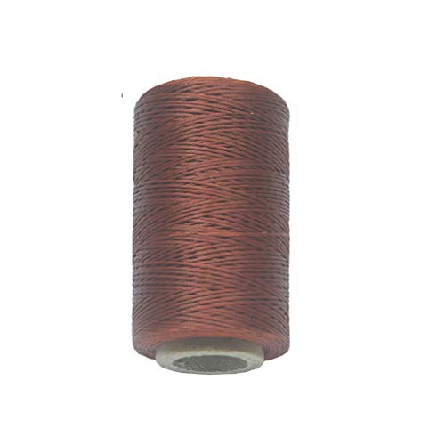 Why Should You Buy Bonarty Durable 260 Meter 0.8mm 150D Flat Leather Waxed Thread Cotton Cord String...