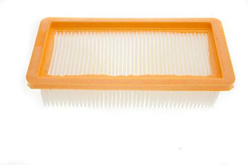 Flachfilter Lamellenfilter Filter 190x95x45mm passend für Kärcher WD7 Serie - Nr: 6.414-971.0