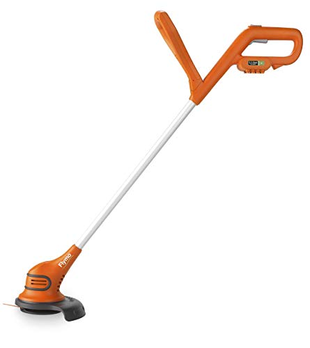 Flymo SimpliTrim Li Cordless Battery Grass Trimmer - Ultra Lightweight 14.4 V Li-Ion Battery Integrated Including Charger), 23 cm Cutting Width, Durable Long Life Blades, Includes Spare Blades in Head