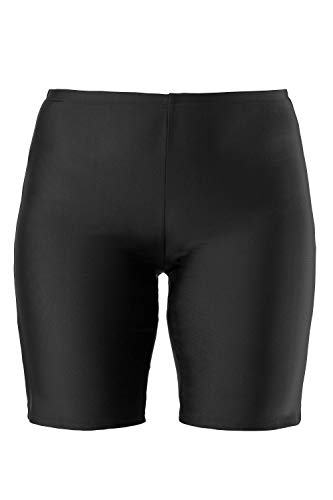 Ulla Popken Schwimmradler Pantalones Cortos de baño premamá, Negro (Schwarz 10), 62 para Mujer