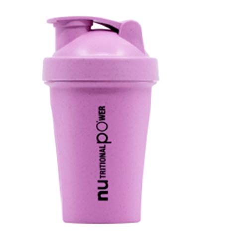 Nupo Protein Shaker 400ml (Pink + Ökologisch)