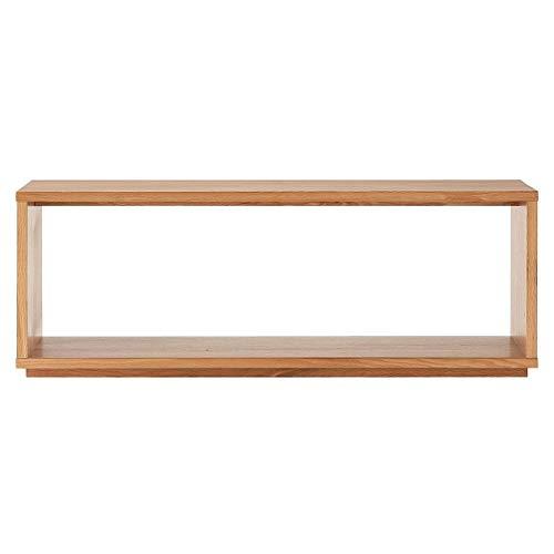無印良品 木製テーブルベンチ/オーク材 幅120×奥行37.5×高さ44cm 15892426