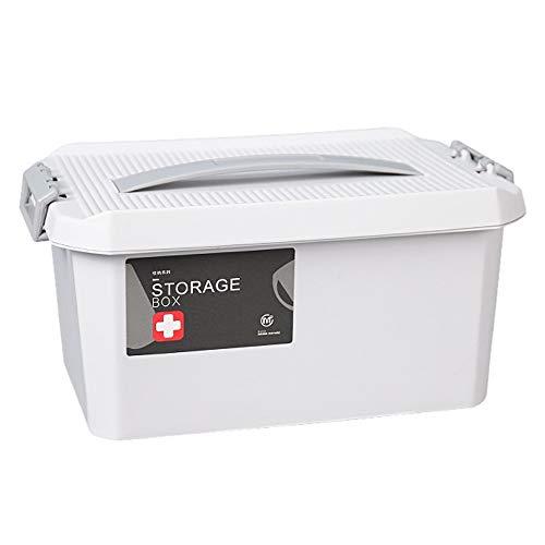Shounadai Material médico de la caja PP, portátil, portátil, de gran...