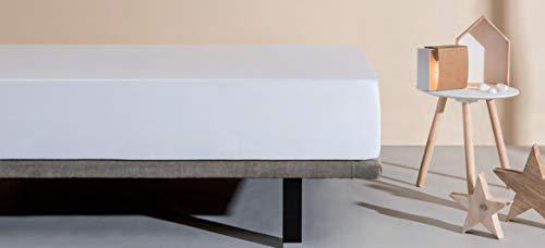 Velfont - Sábana Bajera Respira Impermeable Blanca Velfont Blanco 80 x 190 / 200 cm