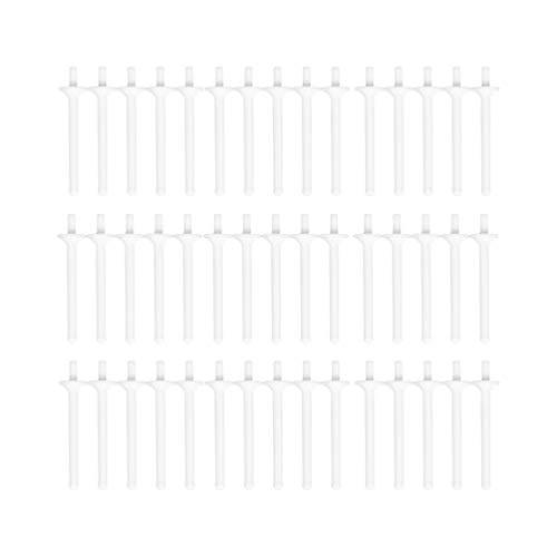 Healifty 40 Stück Nasenwachsstäbchen Einweg-Nasenwachsstäbchen aus Kunststoff für Erwachsene