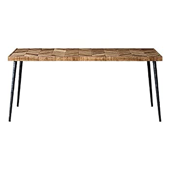 Best chevron dining table Reviews