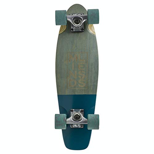 Mindless Longboards Stained Daily III Longboard, Adultos Unisex, Grey (Gris), 7 x 24