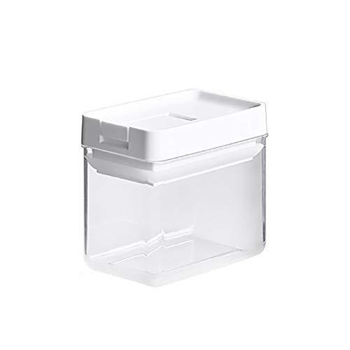Peyan Caja de almacenamiento minimalista de estilo japonés con tapa, contenedores de almacenamiento de alimentos herméticos