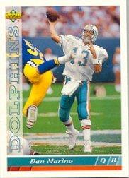 1993 Upper Deck Dan Marino Football Card #139 Dan Marino