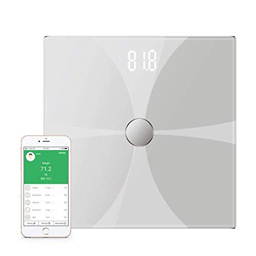 Buy Gulakey Weighing Scale Bluetooth Body Fat Scale, Smart Wireless Digital Bathroom Scale, Large Ba...