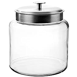 Montana Jar with Brushed Metal Lid, 1.5 Gallon Review