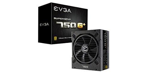 EVGA SuperNOVA 750 G+, 80 Plus Gold 750W, Fully Modular, FDB Fan, 10 Year Warranty, Includes Power ON Self Tester, Power Supply 120-GP-0750-X1