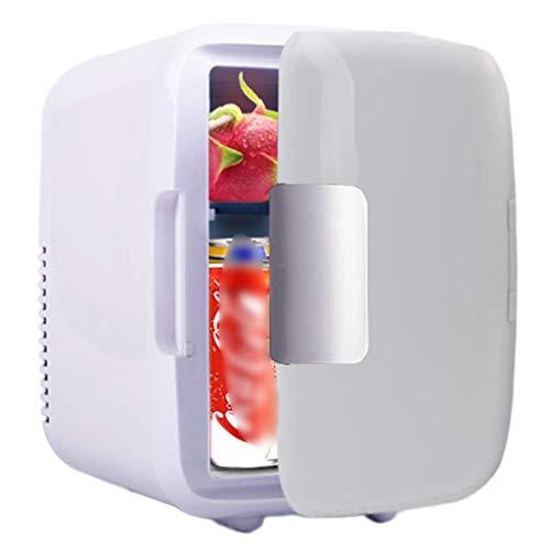 BLLXMX Mini refrigerador 4L / 6 Puede Enfriador termoeléctrico portátil y Calentador Cool Box Enfriador de Coche eléctrico para refrigeración de Camiones en casa