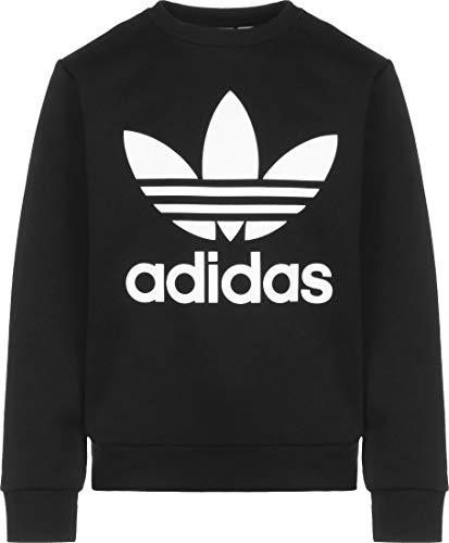 adidas Trefoil Crew Sweater de Bambino Black