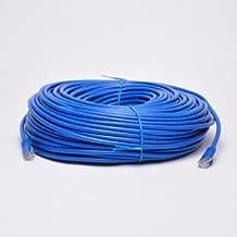 UbiGear New 200ft 60m Blue 200' Ft Rj45 Cat6 Ethernet LAN Network Internet Computer