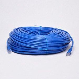 UbiGear 200ft Blue RJ45 CAT6 Ethernet LAN Network Internet Computer Solid Wire 23 AWG UTP Cable