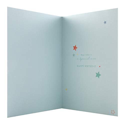 Birthday Card for Dad from Hallmark - 3D Text Design