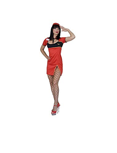 Fiesta Palace - déguisement d'hotesse de l'air taille xl
