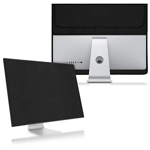 kwmobile Custodia 4in1 Compatibile con Apple iMac 27' / iMac PRO 27' - Fodero Monitor, Case Tastiera, Cover Magic Mouse e Porta-Cavi - Nero
