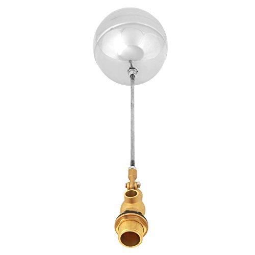 Sensor de agua de rosca macho G3/4'DN20, bola flotante de acero inoxidable ajustable con flotador para interruptor de nivel magnético y mediciones de nivel de líquido
