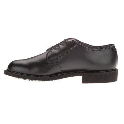 Bates Women's Leather Uniform Oxford, Black, 8 M US