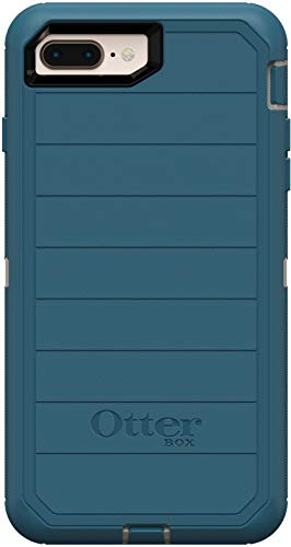 OtterBox Defender Series Rugged Case for iPhone 8 Plus & iPhone 7 Plus - Case Only - Non-Retail Packaging - Big Sur - With Microbial Defense