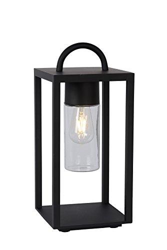 Lucide GLIMMER - tafellamp buiten - E27 - IP44 - zwart