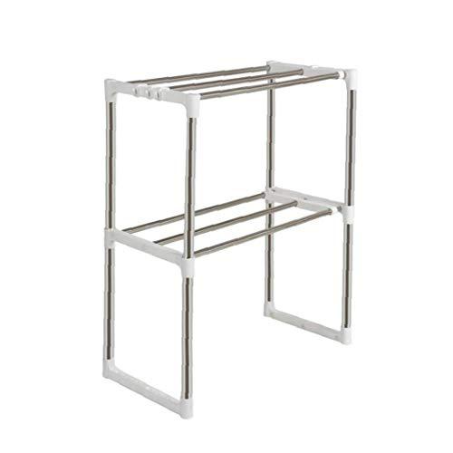 DierCosy Küchenregale Edelstahl Lagerung Mikrowelle Regal Rack-12 D x 35.4