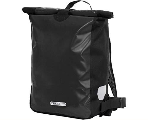 Ortlieb Unisex– Erwachsene Messenger-Bag Fahrrad-Rucksack, Schwarz, One Size