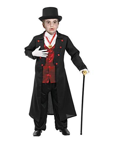 DISBACANAL Disfraz de drácula Infantil - -, 6 años