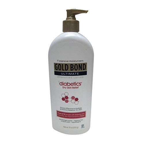 Gold Bond Ultimate Hydrating Lotion, Diabetics Dry Skin Relief 18 oz (Pack of 3)