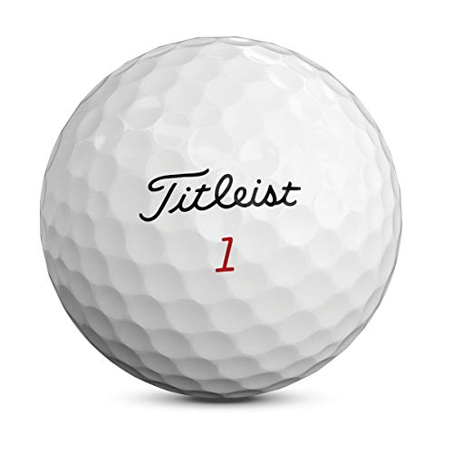 Titleist Pro V1x Golf Balls, White, Standard Play Numbers (1-4), One Dozen