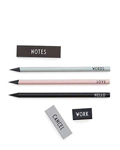 Design Letters Pencil Set Set Mixed