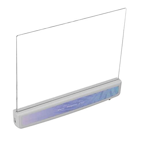 Leeslamp, 60 uur gebruikstijd Leeslamp met hoogwaardig organisch plastic paneel voor lezen en studeren voor studenten(2# section)