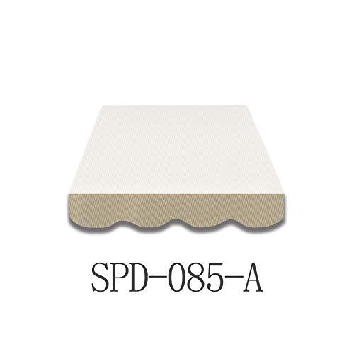 Home & Trends Markisen Volant Markisenbespannung Ersatzstoffe Mehrfarbig Maße 4 x 0.23 m Markisenstoffen fertig genäht mit Bordeux (SPD085A)