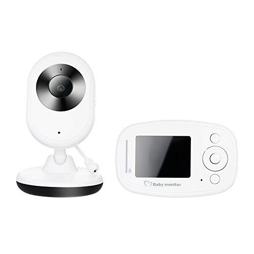 SSZZ draadloze tweewegs-video-byphone met zwenk-/kantel-zoomcamera en 2,4 inch LCD-scherm en infrarood nachtzicht