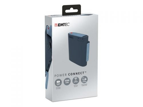 Emtec U600 Connect Power Bank mit WiFi File Sharing (5200mAh)